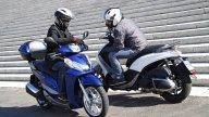 Moto - Gallery: Piaggio Beverly Sport Tourer 350 Vs Honda SH300i - Foto Dinamiche