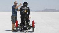 Moto - News: Dan Parker, cieco, a Bonneville in sella a un trike