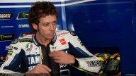 Moto - News: Il nuovo casco di Valentino Rossi è double face
