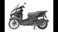 Moto - News: Yamaha Tricity: brevetti di un nuovo design