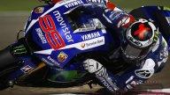 Gomito in terra e gas aperto, ormai in MotoGP si guida cosi'