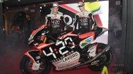 Moto2: Manzi: riparto da zero e dimentico lo stress
