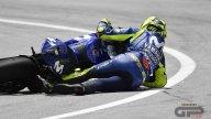 MotoGP: La caduta di Valentino Rossi a Sepang