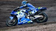 MotoGP: La pioggia bagna il primo giorno dei test MotoGP al KymiRing
