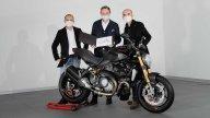 Moto - News: Ducati, consegnato il Monster numero 350.000