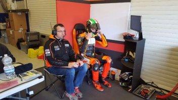 Test Jerez: Svetta Nakagami, 3° Baldassarri
