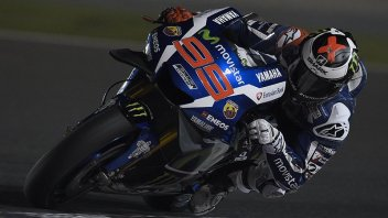 Qatar, FP1: Rossi e Iannone in scia a Lorenzo