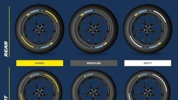 Michelin: tutti i colori del 'grip'