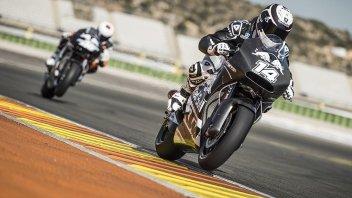 Valencia: il meteo non ferma i test KTM