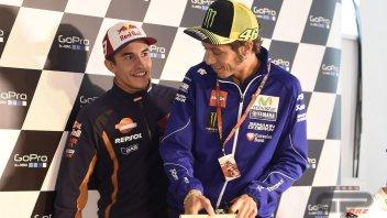 Rossi e Marquez faccia a faccia dopo 5 mesi