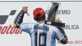 MotoGP, Rossi in Argentina nel segno di Maradona