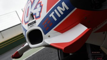 Dovizioso: limiting the wings isn't fair