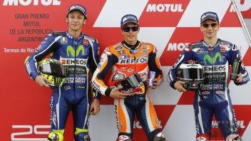 Rossi, Lorenzo e Marquez verso l'ignoto