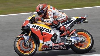 Test Jerez: Marquez parte col piede giusto