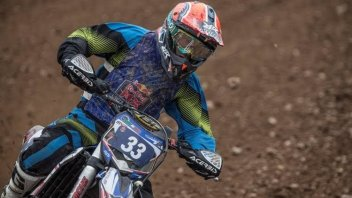 Melandri torna in pista… col cross