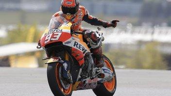 Marquez: con questa Honda è facile sbagliare