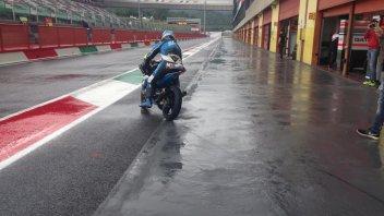 Al Mugello la pioggia guasta i piani di Moto2 e Moto3