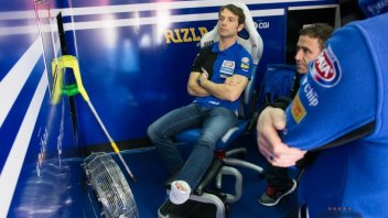 Guintoli out per Donington, Lowes in forse