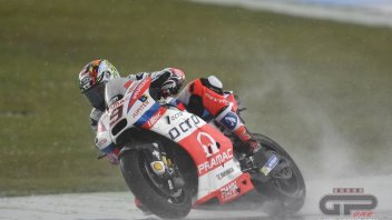 The Assen GP in the storm