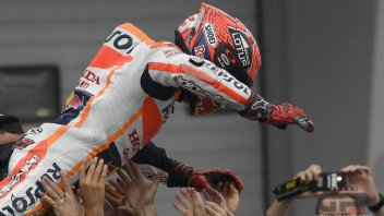 Marquez: the secret? strategy decided in the garage