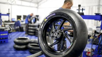 Michelin on the Sachsenring with asymmetrical tyres