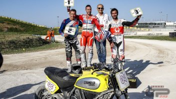 Scrambler e traversi: Dovizioso batte Bayliss