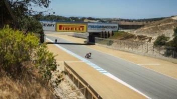 Pirelli: A Laguna Seca con pneumatici di gamma
