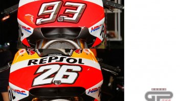 Marc Marquez new fairing and air-vent
