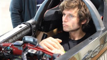 Guy Martin and Triumph ready for the speed record