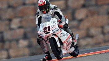 Test Aragon: Mahindra in pista con nuovo motore e forcellone