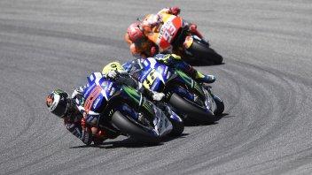 A Misano Rossi insegue il record di Marquez e Lorenzo