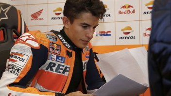 Marquez: The crash? a 'calculated' risk