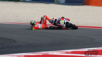 PHOTO. Iannone's crash sequence at Misano