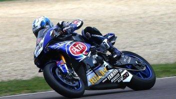 La pioggia frena i test Yamaha a Magny-Cours