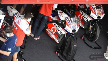 Pramac with the Ducati GP17 during Jerez testing