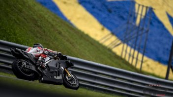 Pirro and his 'brothers': testers in action in Sepang