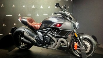 Ducati e Diesel: patto col Diavel