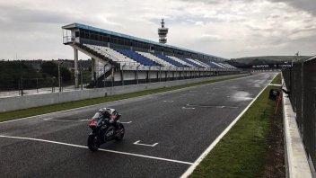 Moto2: La pioggia rovina l'ultimo giorno di test a Jerez