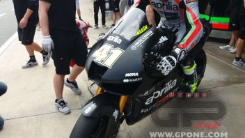 MotoGP: Aleix Espargarò reveals the new Aprilia fairing