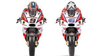MotoGP: PHOTOS. Petrucci and Redding on the new Pramac Ducati