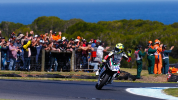 "SBK: Rolfo: ""The most exciting win ever"""