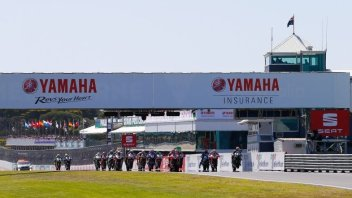 SBK: Race2: Baptism by fire for the inverted grid