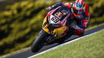 "SBK: Hayden: ""I can't control the bike yet"""