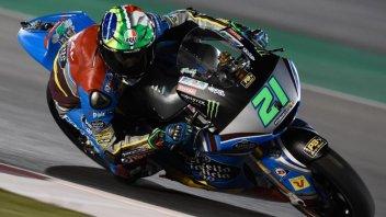 Moto2: Morbidelli domina le FP3 a Losail