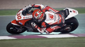 Moto2: Test Qatar: Nakagami svetta, Morbidelli incalza