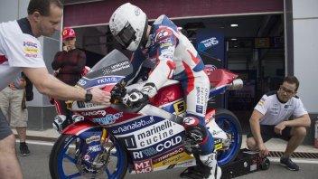 Moto3: Test Qatar: Fenati chiude in bellezza, 2° Martin