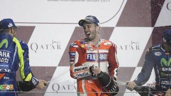 MotoGP: Dovizioso: 2° posto? non è una maledizione