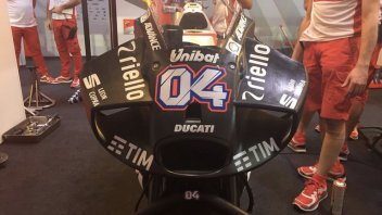 MotoGP: Qatar test: here's the new Ducati fairing!