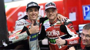 MotoGP: Sorpresa Aprilia nei test in Qatar: Espargarò entra nella Top 5