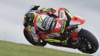 Moto2: FP3: Baldassarri non si fa spaventare dall'umido